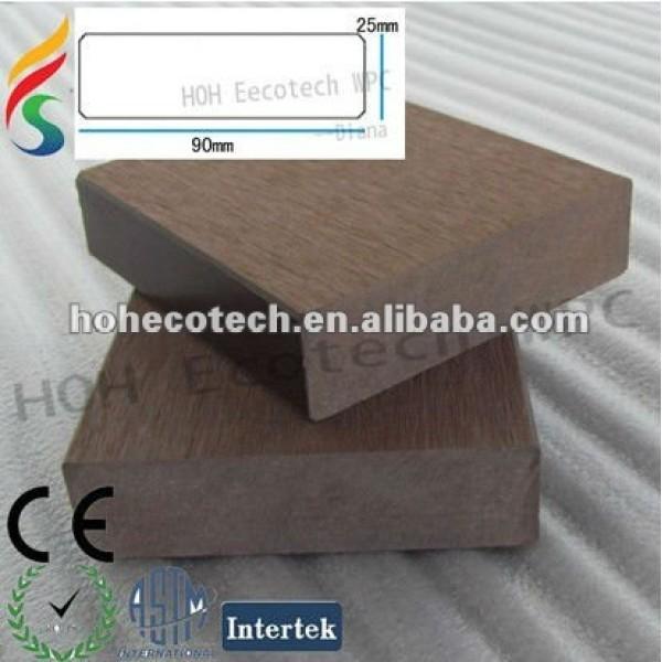 Venta caliente! A prueba de agua ( compuesto plástico de madera ) wpc barandilla de la escalera/jardín barandilla/guardia de los carriles