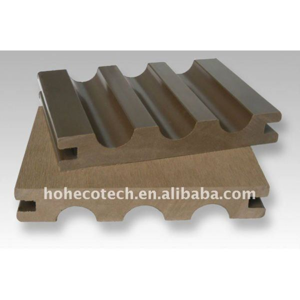 140x23mm Außenseiten-Zusammensetzung Decking