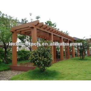 OUTDOOR Waterproof wpc sliding pergola