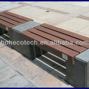 wood plastic composite bench plank