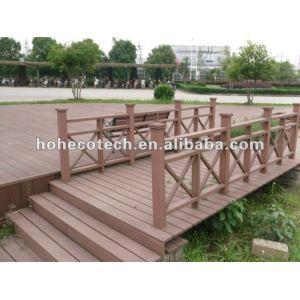 Environmental wooden plastic compostie railing