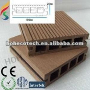 ( hoh ecotech ) hueco wpc decking compuesto de piso piso compuesto de la cubierta
