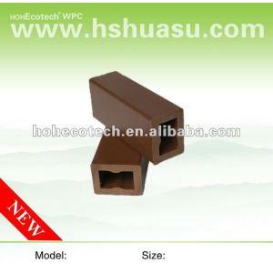 A prueba de agua compuesto plástico de madera de las vigas/quilla wpc 40s30 - b 40*30mm