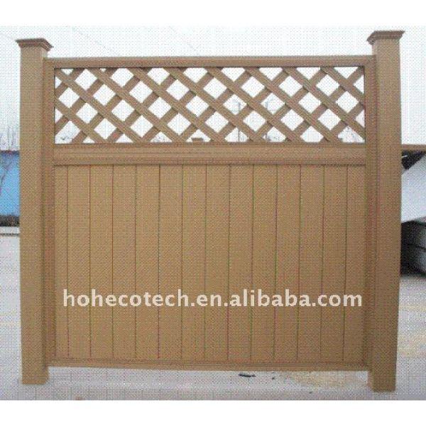 Recinzione vari scegliere! Scherma wpc legno composito di plastica da giardino scherma/wpc ringhiera di recinzione in legno