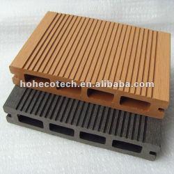 ( sensación natural/excelente calidad/de seguridad ) piso decking compuesto de la cubierta compuesto de la cubierta del wpc