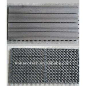 Anti-UVDIY hölzerne zusammengesetzte Plattformplastikfliesen