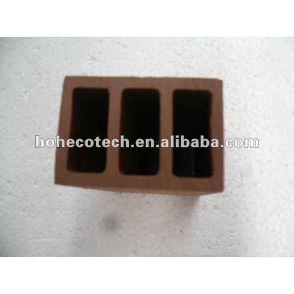 100% reciclado wpc de alta calidad al aire libre de esgrima post( wpc suelo/wpc panel de pared/wpc productos de ocio)