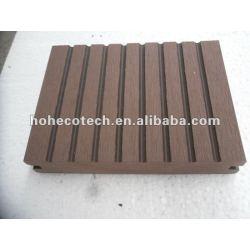 100% reciclado exterior wpc pisos sólidos ( decking de wpc/ painel de parede wpc/ wpc produtos de lazer )