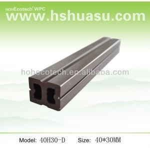 composto plástico de madeira joist
