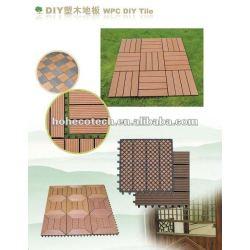 Extérieur en plastique vinyle planches de terrasse/éco.- amicalequalité platelage composite bois plastique/carrelage
