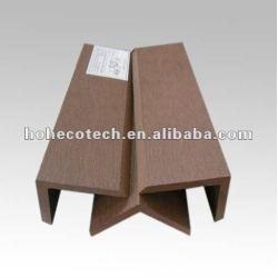De alta calidad! Compuesto plástico de madera wpc cubierta final para cubiertas