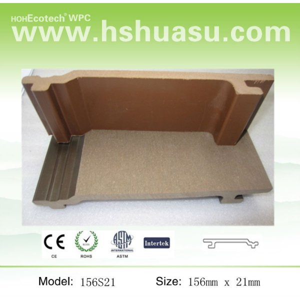 revêtement extérieur synthétique artificiel de mur de bas entretien