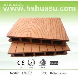 deckings exteriores e pavimentos feito pela madeira e plástico