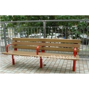 wood plastic composite bench/chairs OUTdoor leisure chairs/bench wood bench