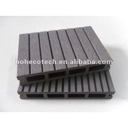 Crack durable y resistente a la pudrición, anti - uv hueco wpc decking