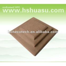 Best selling! Recycled water-proof wpc outdoor fence post caps (CE RoHS ISO9001 ISO14001)