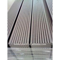 la superficie de lijado 140x25mm wpc suelo junta plataforma junta