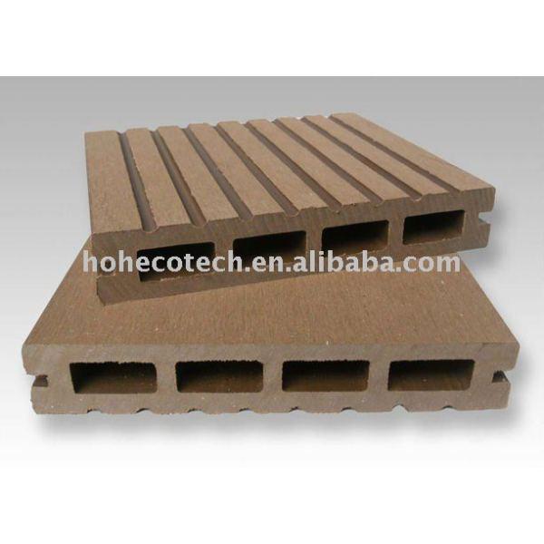 Eco-libre avec du bois en bois du parfum WPC Decking-140x25mm