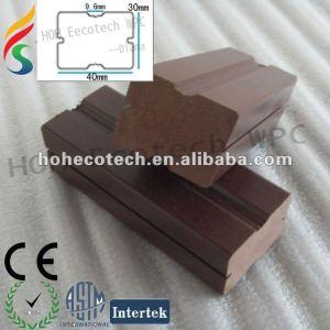 Poutrelle composée en plastique en bois de plancher de wpc