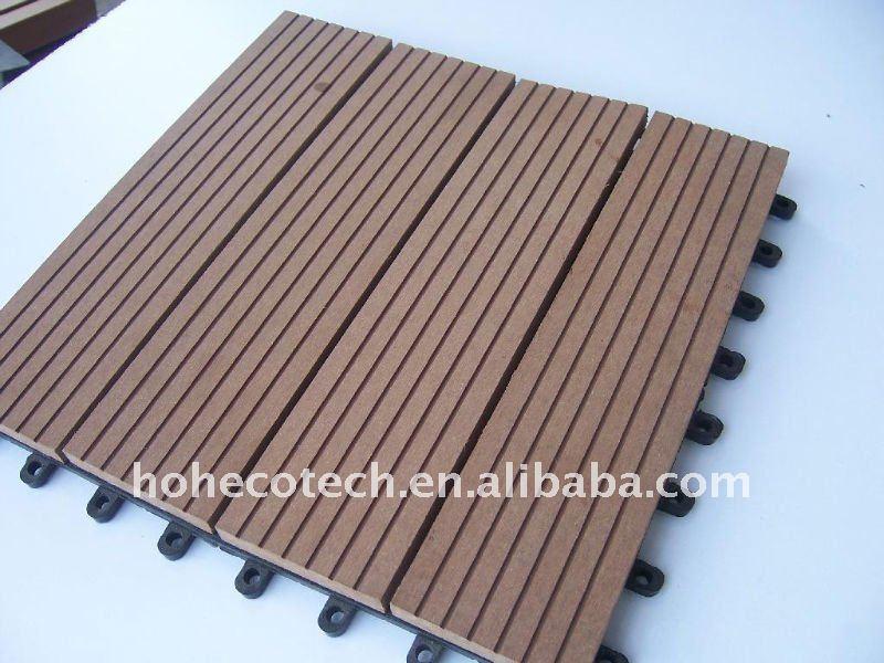 Cina Fabbrica Wpc Decking Pavimentazione Di Wpc Materiali