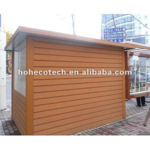 WPC construisant le panneau de mur matreial/meubles extérieurs