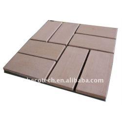 impermeável telha de wpc wpc decking de wpc wpc revestimento de materiais de construção da telha de wpc