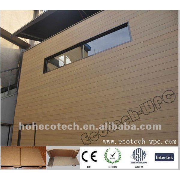 Wpc compuesto plástico de madera del panel de la pared/revestimiento