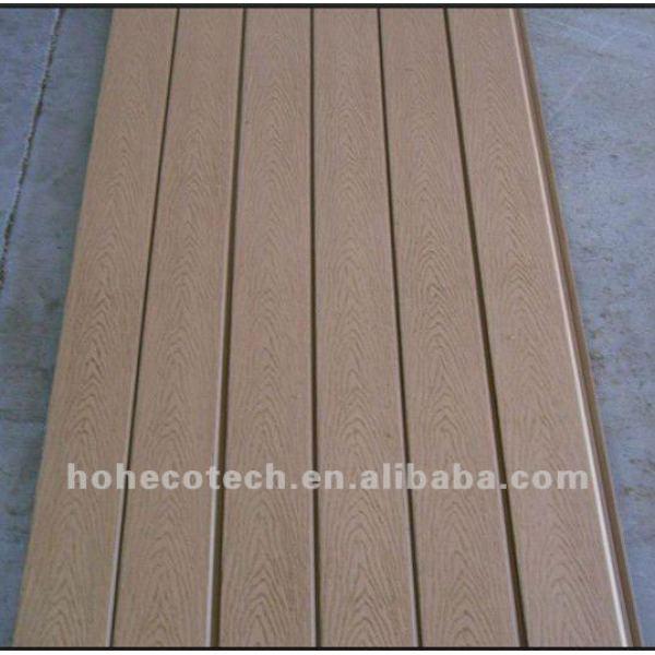 la construcción de material wpc panel decorativo