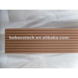 beide gerillt Oberfläche 145x21mm im Freien Bambus/wood Decking hölzerner zusammengesetzter Plastikdecking/Bodenbelagbrett wpc Plattformfliesebauholz