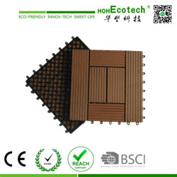 wpc decking board for teak deck tiles
