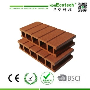 unti-uv waterproof outdoor wood plastic composites flooring