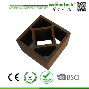 wood plastic garden no folding fence post