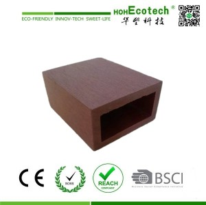 natural wood plastic composite tube REST Pavilion