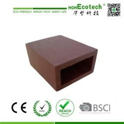 natural wood plastic composite tube REST Pavilion