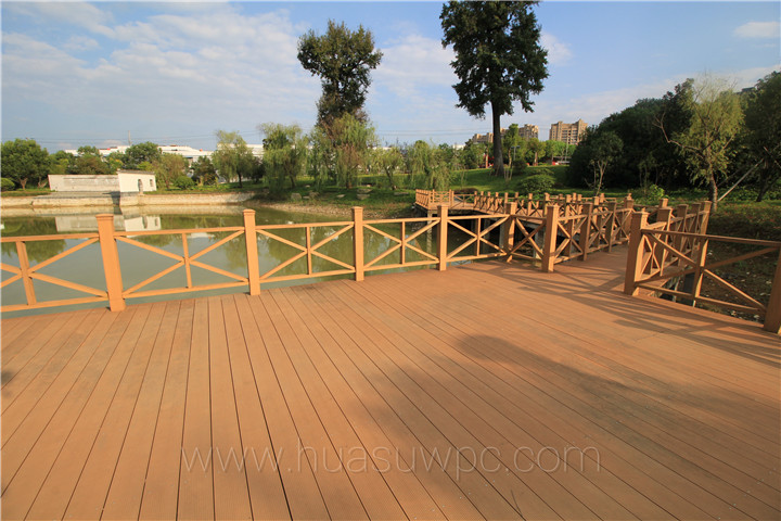 Hoh ecotech wpc news huasu wpc composite boards for for 6 metre decking boards