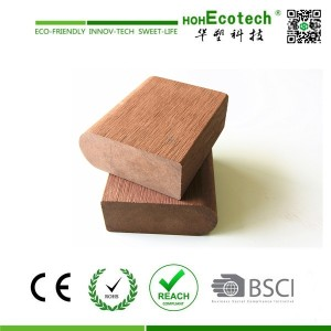Plastic Composite board instead of wood slat for bench and chair