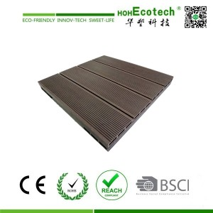 WPC outside floor tiles