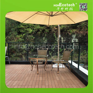(CE)popular wpc composite decking tiles