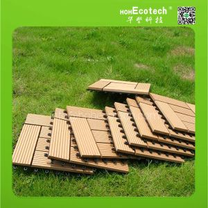 WPC patio wood composite tiles