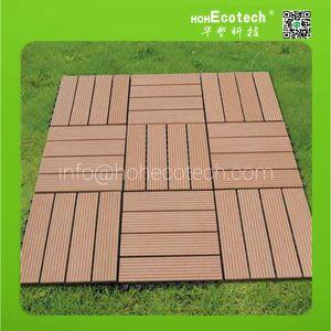 outdoor WPC wooden patio tiles