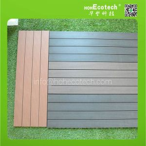 wood plastic composite tile that looks like wood