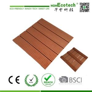300mm WPC plastic boards pool deck tile
