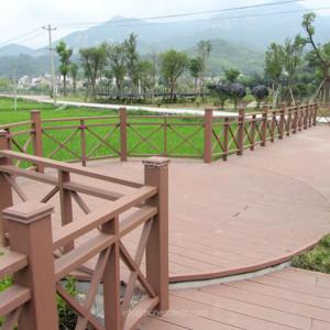 wood plastic composite wpc deckings for landscape gardening