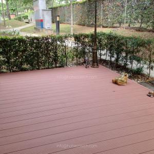 easy installation Composite Backyard Deck
