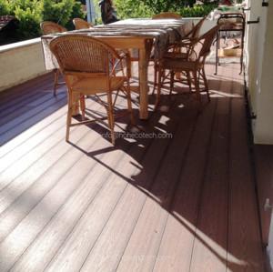 Wood Plastic Composite backyard decks and patios