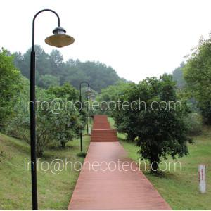 HUASU WPC garden decking ideas
