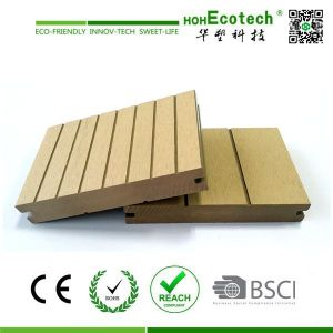 150mm double sides sanding grooved composite solid deck terrace