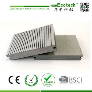 grey color  synthetic wood plastic decking