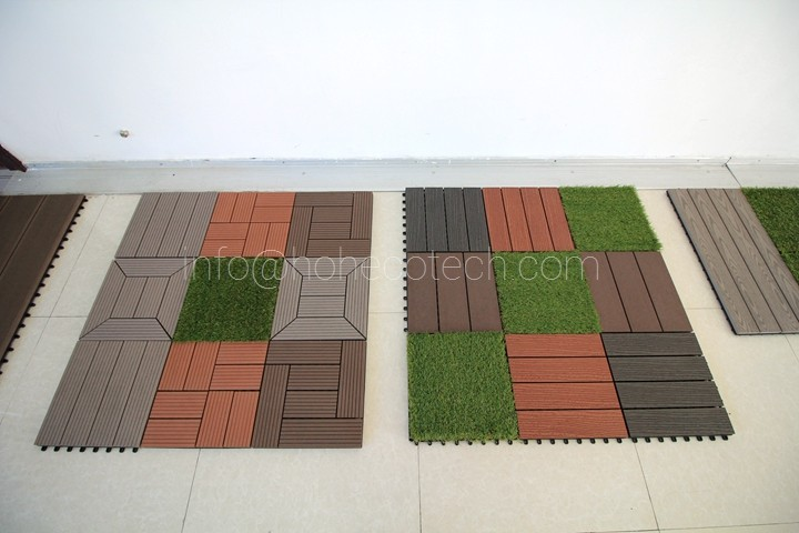 co-extrusion plastic decking1