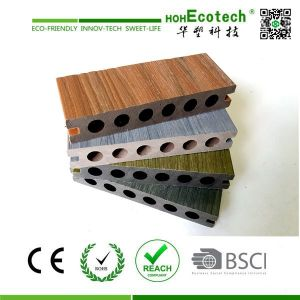 Maintenance-free composite co-extrusion decking